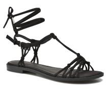 Bow Sandalen in schwarz