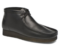 Wallabee Boot M Stiefeletten & Boots in schwarz