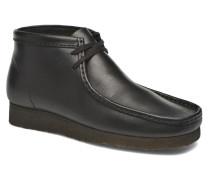 Wallabee Boot M Schnürschuhe in schwarz
