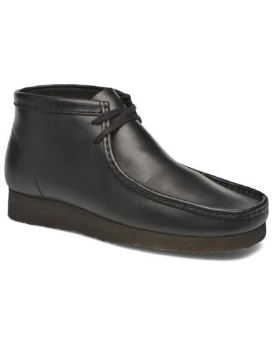 Wallabee Boot M Stiefeletten & Boots in schwarz