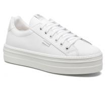 Deportivo Basket Piel 132100 Sneaker in weiß