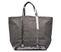 Cabas paillettes toile Porté épaule M+ Handtaschen für Taschen in grau