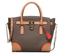 Hamilton LG EW Stachel Handtasche in braun