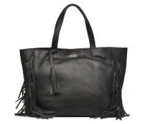 CABAS PARISIEN M Franges Cuir grainé Handtaschen für Taschen in schwarz