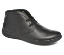 Scarba Ladies Schnürschuhe in schwarz
