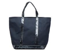 Cabas coton paillettes M+ Handtaschen für Taschen in grau