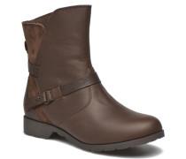 Delavina Low Mosaic Stiefeletten & Boots in braun
