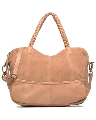 Cameo Leather bag Handtasche in beige