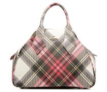 Porté main Tartan Derby Handtaschen für Taschen in mehrfarbig