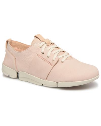 Clarks Damen Tri Caitlin Sneaker in beige