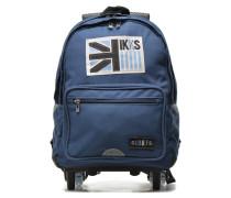 Sac à dos L UK Trolley Schulzubehör für Taschen in blau