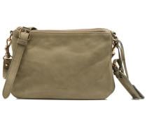 Lune 2 zips PM cuir longbeach Handtaschen für Taschen in grün
