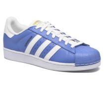 Superstar Sneaker in blau