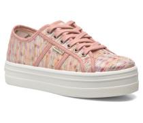 Basket Puntos Brillo Plataf Kids Sneaker in rosa