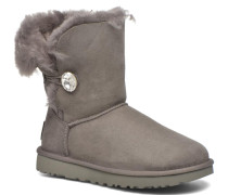 W Bailey Button Bling Stiefeletten & Boots in grau