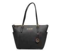 JET SET ITEM EW TZ Tote Handtaschen für Taschen in schwarz