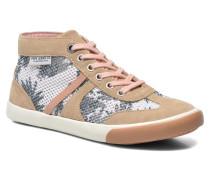 Britt mesh print Sneaker in beige