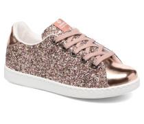 Deportivo Basket Glitter Sneaker in rosa