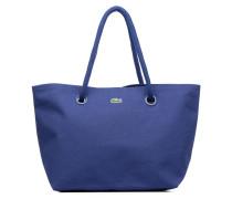 Summer Shopping bag L Handtaschen für Taschen in blau