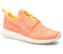 Wmns Roshe One Flyknit Sneaker in orange