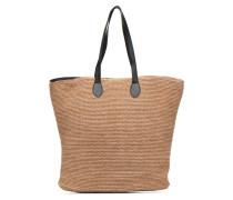 Bine Straw Bag Handtaschen für Taschen in beige