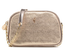 NIDELLA Handtasche in goldinbronze