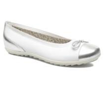ELETTRA Ballerinas in weiß
