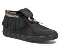 Botin Flecos Serraje F Sneaker in schwarz