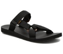 Universal Slide Sandalen in schwarz