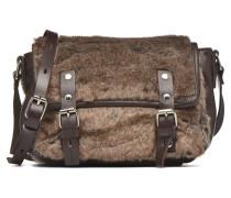 Petite gibecière fourrure Handtaschen für Taschen in braun