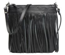 Pochette Floppy Franges Handtaschen für Taschen in schwarz
