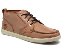 Earthkeepers Fulk LP Chukka Moc Toe Lea Sneaker in braun