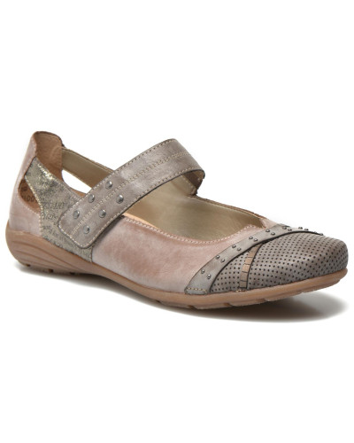 Teen D4627 Ballerinas in beige