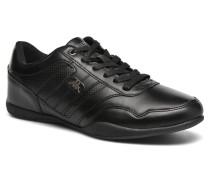 Bodze Lace Sneaker in schwarz