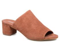 Sila Leather Mule Clogs & Pantoletten in braun