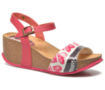 SHOES_BIO 7 SANDAL FLORAL Sandalen in rosa