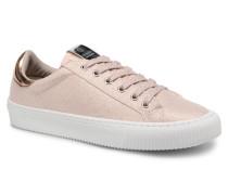 Deportivo Lurex Sneaker in rosa