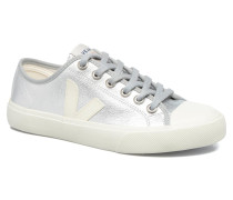 WATA LEATHER Sneaker in silber
