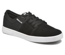 Stacks II Sneaker in schwarz