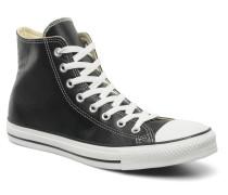 Chuck Taylor All Star Leather Hi M Sneaker in schwarz