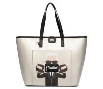 Team Karl Shopper Handtaschen für Taschen in silber