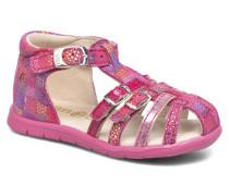 Perle Sandalen in rosa