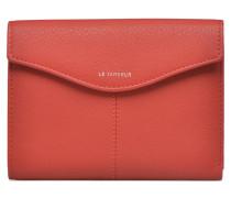 VALENTINE Portefeuille poche zippée Portemonnaies & Clutches für Taschen in rot