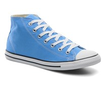 All Star Dainty Canvas Mid W Sneaker in blau