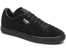 Suede classic eco W Sneaker in schwarz