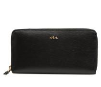 Zip Around Wallet Portemonnaies & Clutches in schwarz