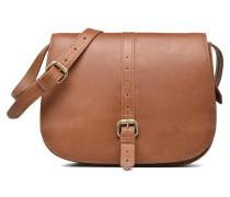SATIRA Porté travers cuir vieilli Handtaschen für Taschen in braun
