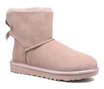 W Mini Bailey Bow II Metallic Stiefeletten & Boots in rosa