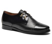 Darby Schnürschuhe in schwarz