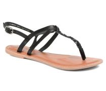 flavia plait Sandalen in schwarz